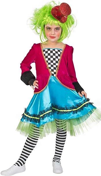 Funny Fashion del Sombrerero Loco Disfraz para Niña – Märchenhafte ...