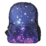 Galaxy Design LED Light-Up Backpack - Electric Flashing Lights