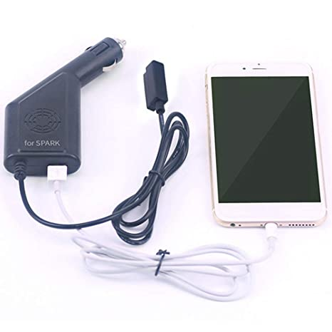 Misszhang-US - Cargador de Coche con Puerto USB para dron dji ...