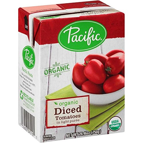 TOMATES, OG2, DICED , Pack of 12 by Pacific Natural Foods