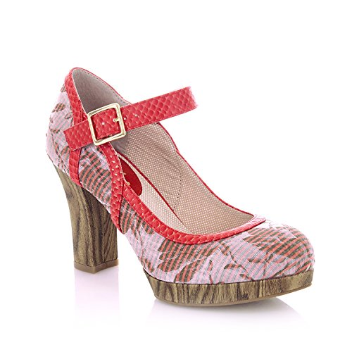 Coral Shoes Women's Bar amp; Ruby Bag Cancun Shoo Matching Cassandra qPBWOF