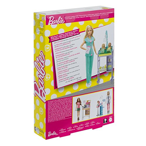 Детская кукла Barbie Baby Doctor Playset