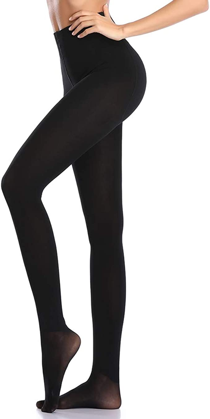Damenstrumpfhose Blickdicht Feinstrumpfhose Stütz-Strumpfhose 60 DEN Leggings