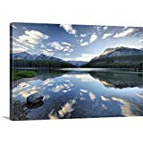 Gallery-Wrapped Canvas Entitled Nature's Mirror, Canada Great Big Canvas 24''x16''