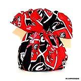 University of Georgia, Bulldogs Fabric Jewelry Organizer, Bell Art Designs JBMD0396