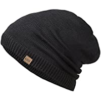REDESS Slouchy Long Oversized Beanie Hat for Women and Men, Variy Styles and Colors Fleece Lined Winter Warm Knit Cap