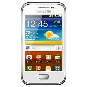 Vodafone GALAXY Ace Plus 2.7GB Color blanco - Smartphone (SIM única, Android, EDGE, GSM, HSDPA, Barra, 3G)