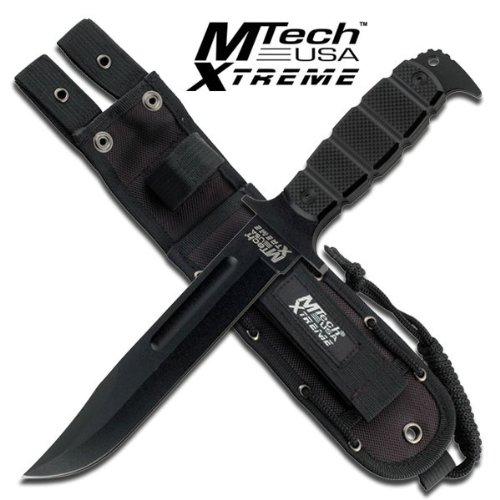 MX-8079BK. M Tech Xtreme Tactical Fixed Blade Knife 12