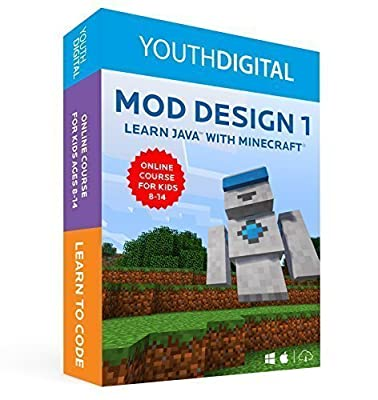 Mod Design 1: Learn to Code with Minecraft for Mac/PC [Online Code]