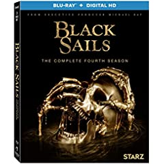 Black Sails: The Complete Fourth Season arrives on Blu-ray and DVD August 29 from Lionsgate
