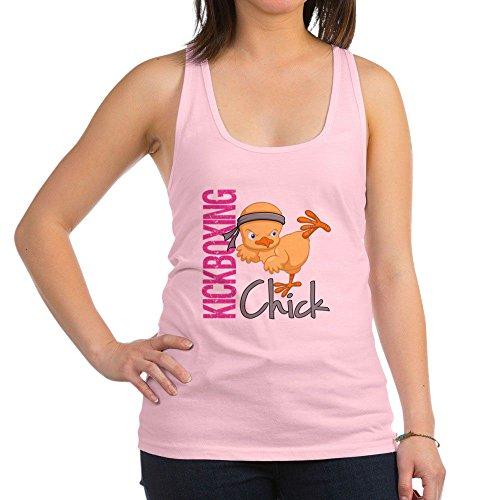 Sexy Sports Chicks (CafePress - Kickboxing Chick 2 - Womens Racerback Tank Top, Stylish Cotton Sports Tank)