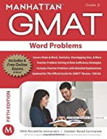 GMAT Strategy Guide, 5th Edition: Word Problems, Guide 3 Front Cover