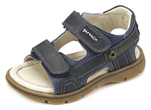 Garvalín Boys' 182463 Open Toe Sandals, Navy/Navy Blue (Sauvage/Kaiser), 9UK Child -  182463-A-AMZ_A-AMZ
