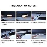 4pcs Fit for Mercedes-benz Car Door LED Lighting