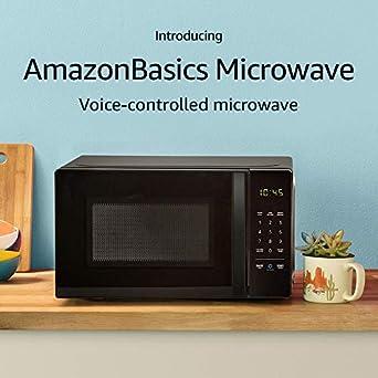 AmazonBasics Microwave | Alexa Enabled - Amazon.com