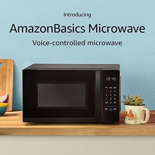 AmazonBasics Microwave, 0.7 Cu. Ft, 700W, Works with Alexa by Amazon (Image #1)