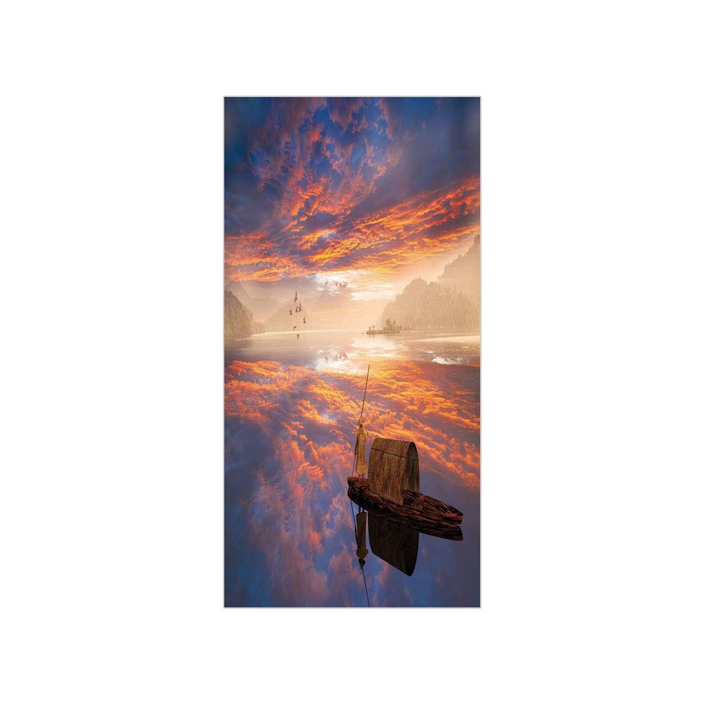 Sunday Morning Imaginary If Only >> Amazon Com 3d Decorative Film Privacy Window Film No Glue Fantastic