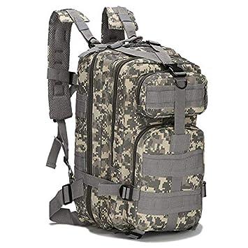 ZaxLand Military Backpack Daypack Outdoor Waterproof Rain 30L Bag Multicam