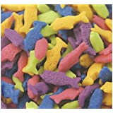 Oasis Supply Edible Cake Topper Sprinkles and Sequin Shapes / 8 ounce (Fish)