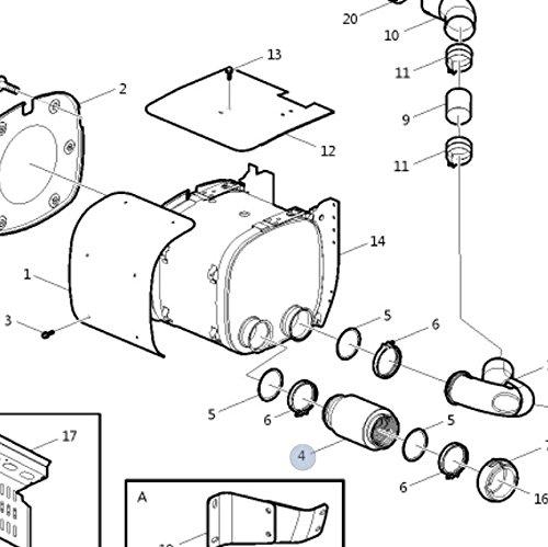 Amazon Com Volvo Truck Exhaust Pipe 21533396 Automotive