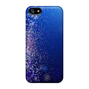 Jeffrehing Case Cover Protector Specially Made For Iphone 5/5s Abstract Light Particles