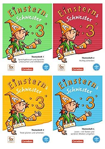 Einsterns Schwester - Sprache und Lesen - Neubearbeitung: 3. Schuljahr - Themenhefte 1-4 und Projektheft mit Schuber: Leihmaterial