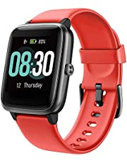 UMIDIGI Smart Watch Uwatch3 Fitness Tracker, Smart Watch for Android Phones, Activity Tracker Smartwatch for Women Men Kids, with Sleep Monitor All-Day Heart Rate 5ATM Waterproof