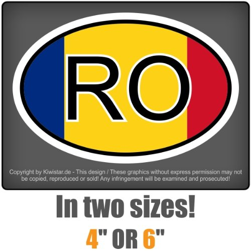 carsticker sticker country Romania ROlaminated product image