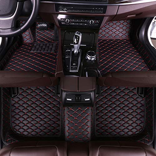 muchkey car Floor Mats fit for KIA Sportage 2018-2020 Custom fit Luxury Leather All Weather Protection Floor Liners Full car Floor Mats