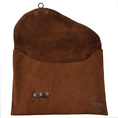 Swayze Suede Handmade Bag Clutch amp; Leather Drink Vintage Hide by tw8z1v