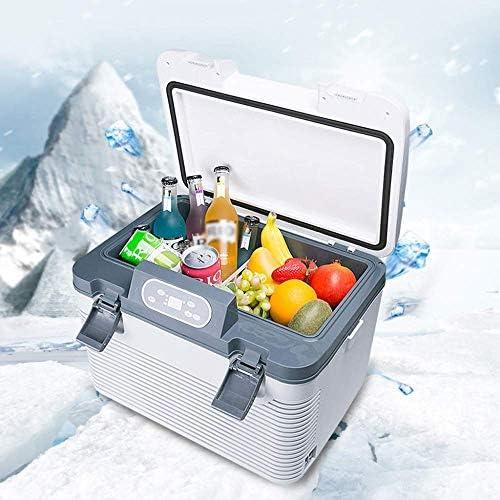 ミニ冷蔵庫車の冷蔵庫コンプレッサークーラーフリーザー12/24/220ボルト接続車とトラックの容量19 L