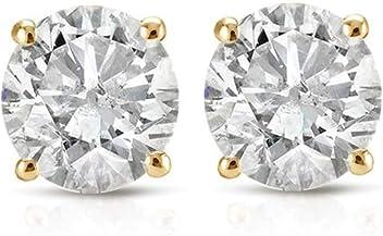 025571219 1/3ct Diamond Studs 14K Yellow Gold