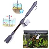 Electric Aquarium Syphon Auto Fish Tank Vacuum Gravel Water Filter Cleaner Washer pump Change the water Power By 2 C/LR14 Battery