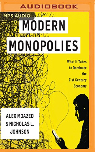 Modern Monopolies: What It Takes to Dominate the 21st Century Economy by Audible Studios on Brilliance Audio