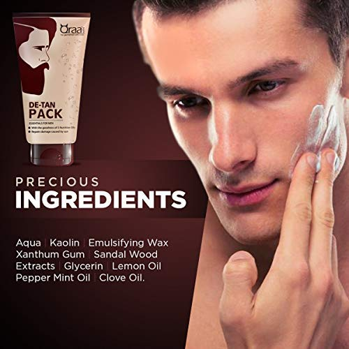 5c7b994020c5e Buy Qraa De Tan Pack 120gm + De Tan Scrub 100gm Online at Low Prices in  India - Amazon.in