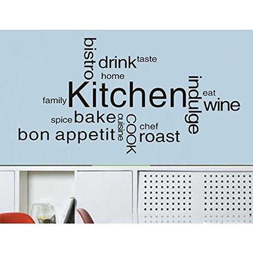 Kitchen Cook Kitchen Waterproof Wall Sticker Decal - 9