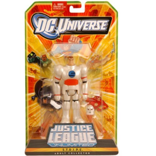 - DC Universe Exclusive Justice League Unlimited Fan Collection Deluxe 10 Inch Action Figure S.T.R.I.P.E.