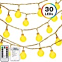 Decornova 13 Ft. 30 Led Battery Operated Fairy Lights