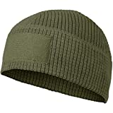 HELIKON-TEX Men's Range Beanie Cap Olive Green Size L/XL