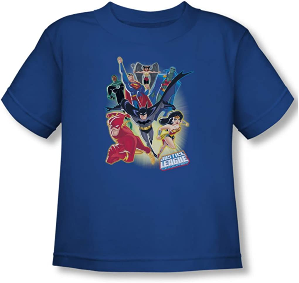 Justice League Unlimited Toddler T-Shirt In Royal