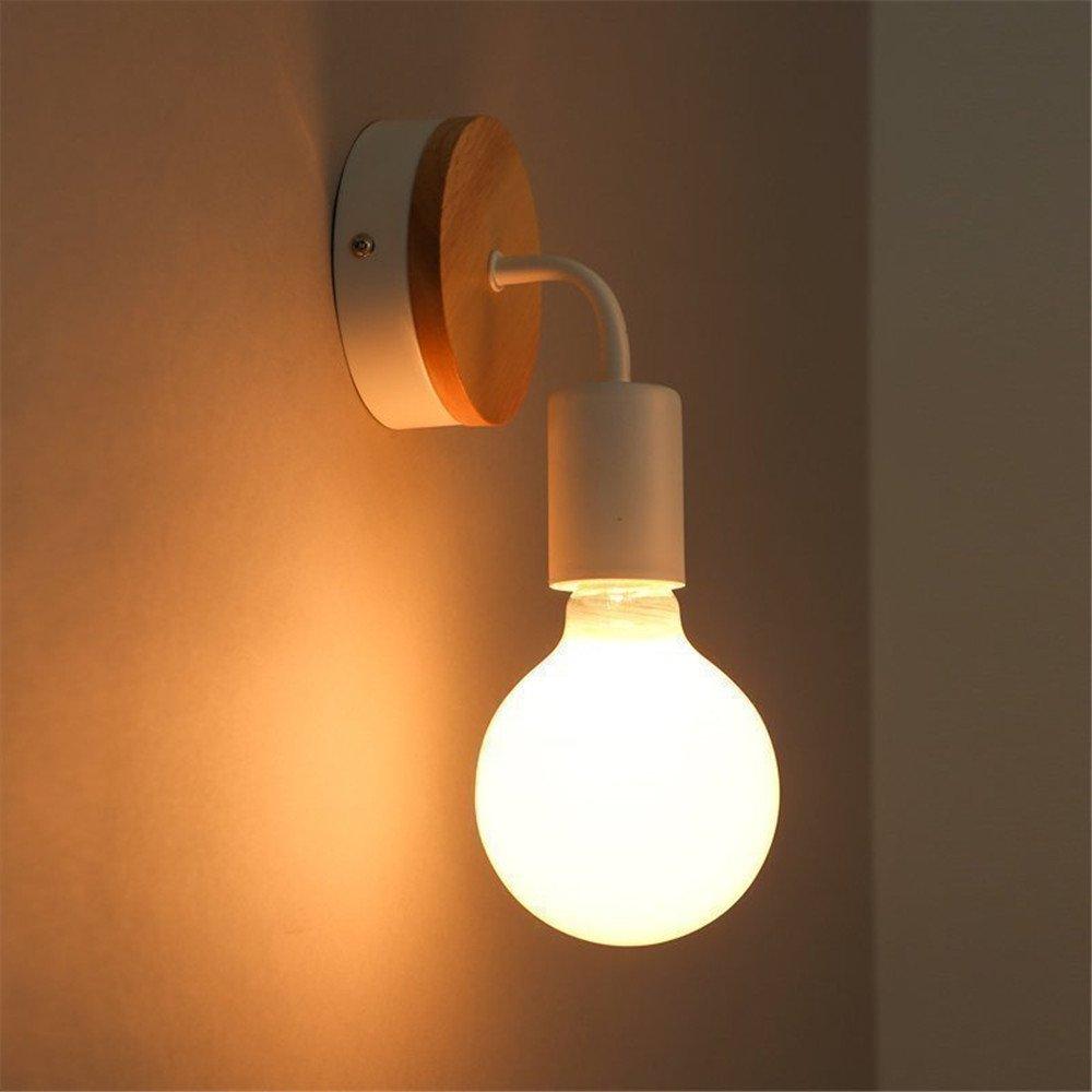 StiefelU LED Wandleuchte nach oben und unten Wandleuchten Studie Straße Lampe Schlafzimmer Wand lampe Holz- Korridor, Leiter Bett Badezimmer Spiegel vordere Lampen, 160 mm