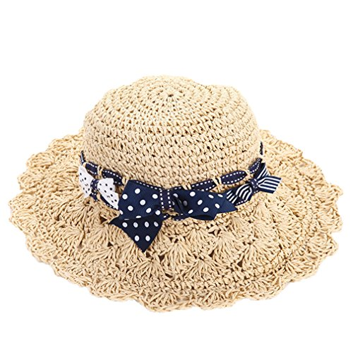 Girl's Summer Straw hats Toddler baby girl Sun hats 1t-8t