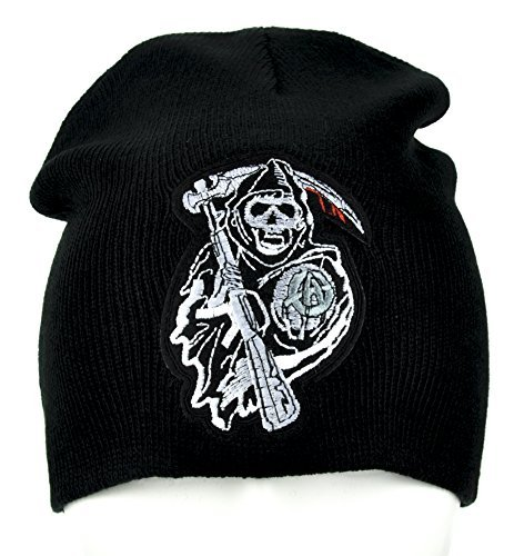 Sons of Anarchy Reaper Crew Beanie Knit Cap Gothic Alternative Clothing SAMCRO