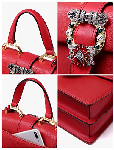 86afeae69a21 Jual LA FESTIN Ladies Cute Bags Dazzling Jewels Shoulder Chain Purse ...