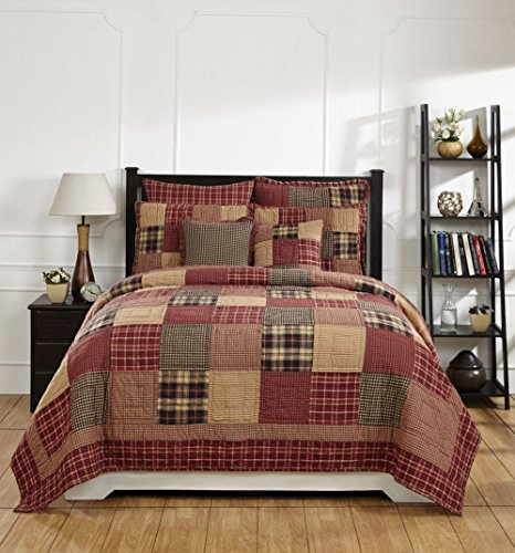 (Olivia's Heartland Rutherford Queen/Full Quilt Set)