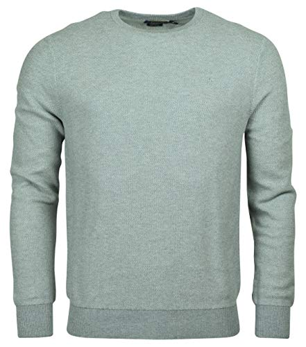 (Polo Ralph Lauren Men's Textured Pima Cotton Sweater (S, Grey))