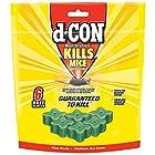 d-CON Corner Fit Mouse Poison Bait Station, 1 Trap + 6 Bait Refills