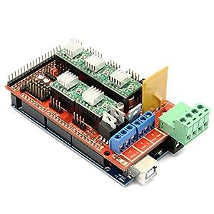 [Sintron] 3D Printer Controller Kit RAMPS 1.4 + Arduino-Compatible Mega 2560...