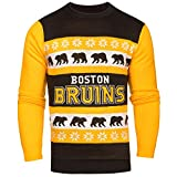 NHL Boston Bruins One Too Many Light Up Sweater, XX-Large
