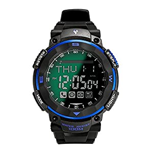 Waterproof Bluetooth 4.0 Smart Watch for iPhone iOS6.0 and Android Version4.3 Above System MobilePhone APP